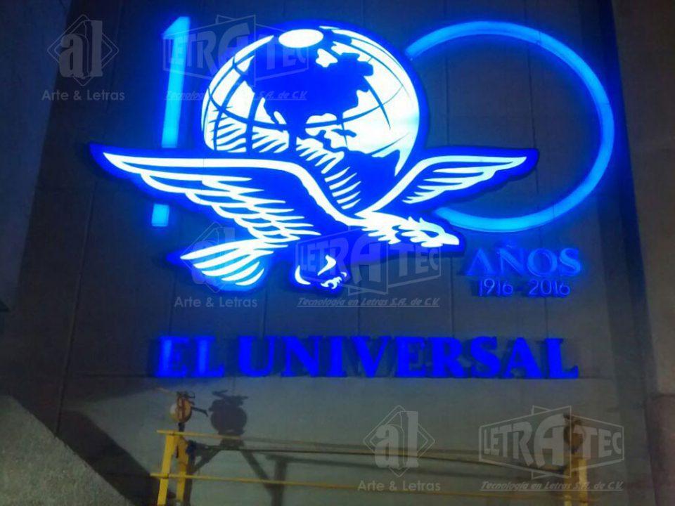 Letras 3D El Universal